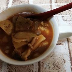 生姜スープ/夏対策 胃腸が疲れやすいこの時期は、生姜スープで…