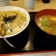 「今、松屋下関稗田店に行ってきました。牛と…」(1枚目)