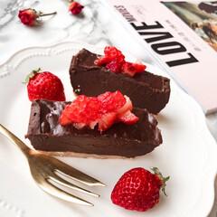 生チョコタルト/お菓子作り/チョコレート/バレンタイン/バレンタイン2020 今年のバレンタインは、焼かずに作れる簡単…