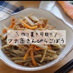 人参/ごぼう/ごぼうレシピ/にんじん/ツナ/缶詰レシピ/... 作り置き可能!お弁当のおかずにもピッタリ…