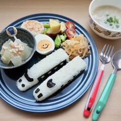 パーティー/和風/おにぎり/和食/簡単レシピ/2歳児/... 息子2歳の誕生日でした! 大好きな新幹線…