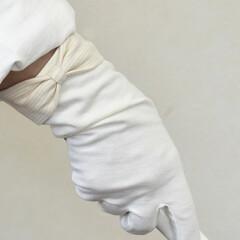 おやすみ手袋/ファッション雑貨/手洗い/ハンドケア/手荒れ/UV手袋/... 🔷教えて❗大豆繊維UV手袋🔷  🙋指切タ…(4枚目)