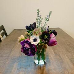 クリスマスローズ/アネモネ/チューリップ/大豆繊維/日焼け対策/UV手袋/... 食卓に花を添えるだけ 気分があがります❗…
