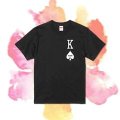 Tshirts/半袖Tシャツ/半袖トップス/オーダーメイド/カスタム/トランプ柄/... カスタムトランプTシャツ(3枚目)