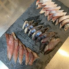 食事情 シメサバ〜寿司酢で締め締め