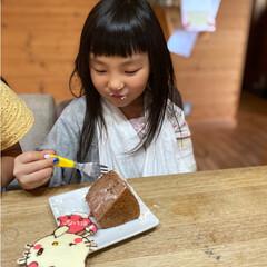 暮らし   記録用に💜  先日次女が6歳に…(2枚目)