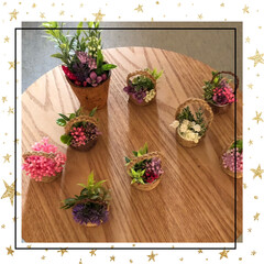 お家時間/造花アート 今日は美容室へ〜 若者と楽しいお喋り🤣を…