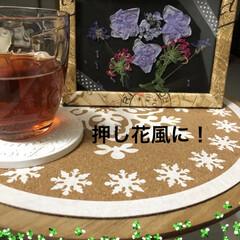 フォトフレーム/ドライ/紫陽花 どうしようか(・・;)   フォトフレー…