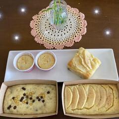 パグさん/サツマイモ/お家時間/ケーキ/りんご シュガバターパンを焼いたり〜りんごとサツ…(4枚目)