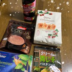 ショッピング/お家時間/パスタソース/紅茶/初売り/カルディ 今年初のカルディ❣️ 美味しそうなものい…(1枚目)