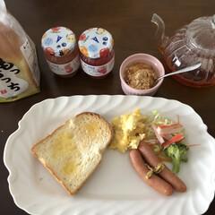 ジャム/食パン/朝食 美味しい食パン見つけたの❣️🍞 イースト…(2枚目)