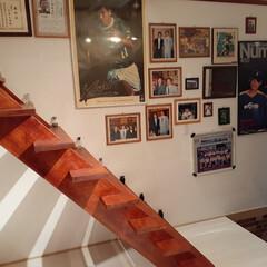 玄関あるある #玄関あるある シンプルに、そして階段を…