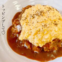 カレー/グルメ/美味しい/卵料理/簡単レシピ/簡単/... 「 #レシピ あり」 おはようございます…(6枚目)