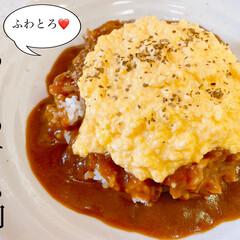 カレー/グルメ/美味しい/卵料理/簡単レシピ/簡単/... 「 #レシピ あり」 おはようございます…(1枚目)