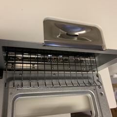 バルミューダ ザ・トースター BALMUDA The Toaster K01E-KG(ブラック) | BALMUDA(トースター)を使ったクチコミ「ここからお水を入れます☺︎ これだけで …」