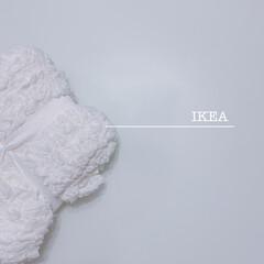 イケア 毛布 ホワイト 130x170cm 601.738.56   イケア(電気毛布、ひざ掛け)を使ったクチコミ「 ◌ ͙❁˚  オフェーリア ◌ ͙❁˚…」