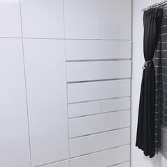 NITORI/システム家具/カーテン/すっきり暮らす/生活を整える/ディノス/... 私の部屋のシステム家具は、 dinosで…