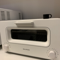 バルミューダ スチームオーブントースター BALMUDA The Toaster K01A-KG | BALMUDA(トースター)を使ったクチコミ「ダイヤルの時間や温度調整は、 至って簡単…」