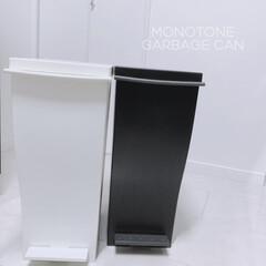 ゴミ箱 クード kcud シンプル スリム 縦型 おしゃれ キッチン 45リットル | イワタニ(ゴミ箱、ダストボックス)を使ったクチコミ「スリムでスタイリッシュ けれど結構ゴミが…」(1枚目)