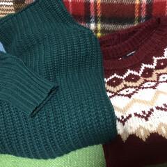 新年に買ったもの 昨年ジャストサイズのセーター処分したので…