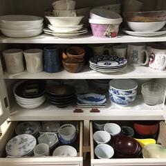 インテリア/ニトリ/家具/NITORI/ニトリ家具 去年の始めに圧迫のないチェスト型の食器棚…(2枚目)