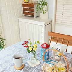 ムーミン/ムーミン屋敷/ティータイム/雑貨/雑貨だいすき 毎日雨ばかり…☔ お気に入りのテーブルク…