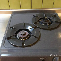 ガス台清掃/油汚れ/ハウスクリーニング 油汚れさよなら!  清掃後写真。  清掃…