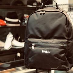 ブランドショップ/メンズファッション/ブラックコーデ/リュック/ファッション/メンズアイテム/... 《BALR.》 ボーラー リュック  い…