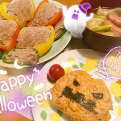 halloween/ハロウィン/100均deハロウィン 🎃HAPPY HALLOWEEN🎃  昨…