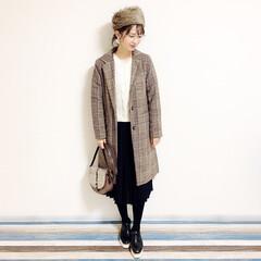 ファッション/おすすめアイテム 🧸通勤コーデ🧸 ラティスで購入した帽子。…(1枚目)