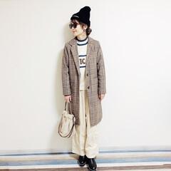 ファッション/おすすめアイテム/annaママの高見えコーデ/パンツコーデ/しまむら/しまむらコーデ/... 🧸ニット帽コーデ🧸 年末からのコーデたま…