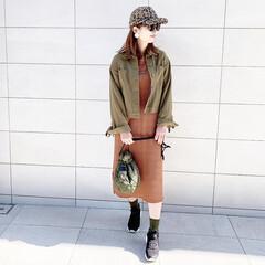 ファッション/おすすめアイテム/スリーコインズ/スリコ/プチプラ/annaママの高見えコーデ/... 🧸スリコ🧸 スリコ小物コーデ❤︎  スリ…