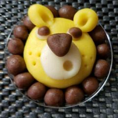 お菓子/マジパン 息子が作ってきた マジパン。 とても可愛…