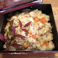 炊き込みご飯/おこわ/もち米 おはようございます😊 もち米消費に、おこ…