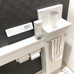 ハンドソープディスペンサー/トイレ手洗い器/トイレ/ソープディスペンサー/雑貨/暮らし 以前、洗面所用に買ったソープディスペンサ…