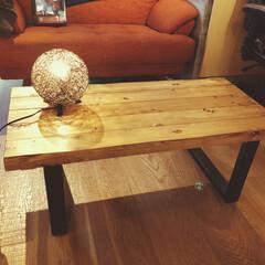 DIY/家具/住まい/建築 ローテーブルをDIYしました✌️