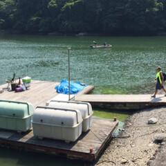 アウトドア好き/キャンプ好き/山/山登り/湖畔/湖/... これは相模湖だったかな〜🧐 湖畔のバンガ…(2枚目)