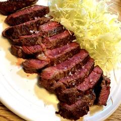 バーミキュラ/料理男子/旦那飯/ステーキ/ランチ こんにちは。  【本日の旦那飯】23皿目…