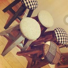 丸椅子/キノコ/スツール/DIY/インテリア/家具 年明けに5脚限定で再販できるよう目指して…