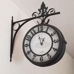 アンティーク風/リバーシブル/時計/雑貨 新築に入居する時に妻の強い要望で LDK…