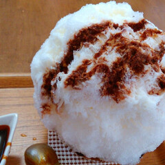 はじめてフォト投稿/かき氷 こちらも江ノ島近くのかき氷屋さんの(^-…