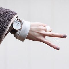 allydenovo/腕時計/プレゼント/ギフト/レディースウォッチ/メンズウォッチ/... Gaia Pearl 36mm Rose…