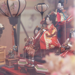雛祭り/雛人形/飯塚市/新飯塚/新飯塚駅/ピンク 「第20回 いいづか雛のまつり」  福岡…