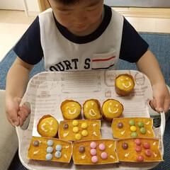 ホットケーキミックス/手作りおやつ/子どものいる暮らし/おうちごはん/こどもの日 素敵なレシピを見つけたので子どもと作って…