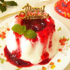 クリスマス/アガー/ミルクプリン 冷やすところまで5分で作れる濃厚ミルクプ…