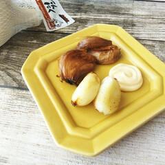 キユーピーハーフマヨネーズ/ キユーピー マヨネーズ(その他調味料、料理の素、油)を使ったクチコミ「仕事や学校が休みだった日のお昼に、まるご…」
