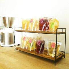 雑貨/ゼリー/おやつ お菓子や調味料、雑貨を並べるのが楽しいワ…