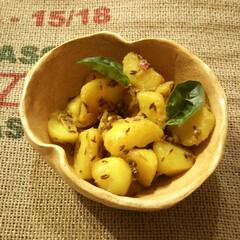 スパイス/サブジ/クミン/コリアンダー/インド料理 じゃがいものサブジ(インド風の野菜の炒め…