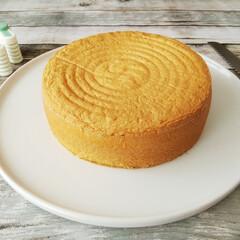 グローバル パン切り 刃渡り 22cm G-9(その他キッチン、台所用品)を使ったクチコミ「米粉と米油を使った、バターと小麦粉不使用…」