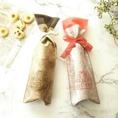 クリスマス/ラッピング/サブレ 高級感のある不織布のバッグは、クリスマス…